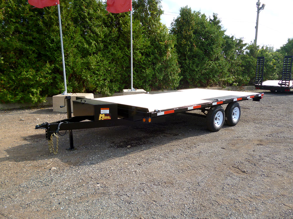 Single Wheel Deckover Floats - Sportsman™ Widebody-3 ½ ton
