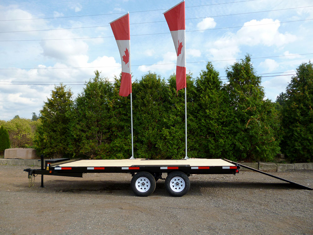 Deckover Floats - Sportsman™ Widebody-3 ½ ton