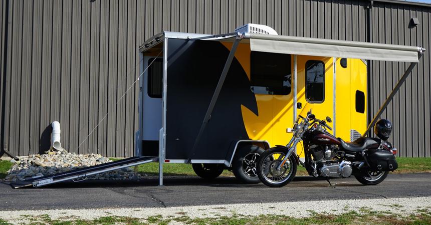 Motorcycle - 7 Wide Single Axle NAMR