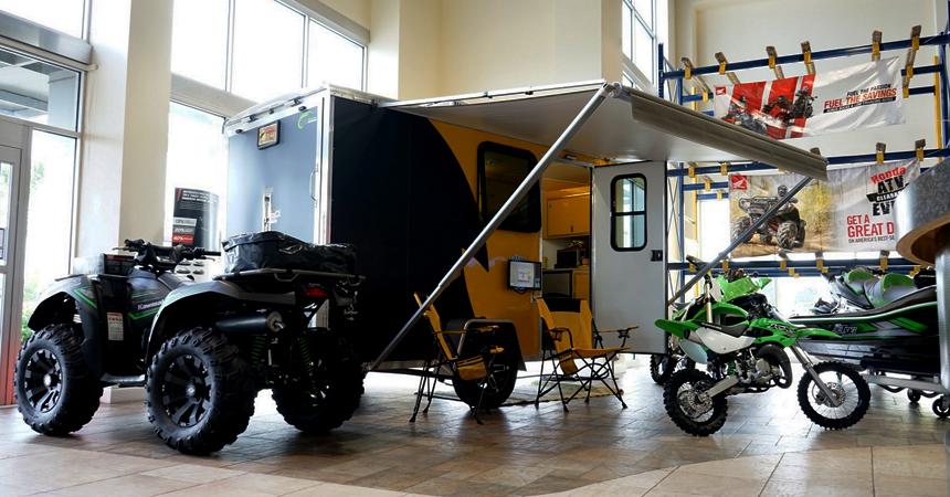 Motorcycle - 5 Wide Single Axle NAMR