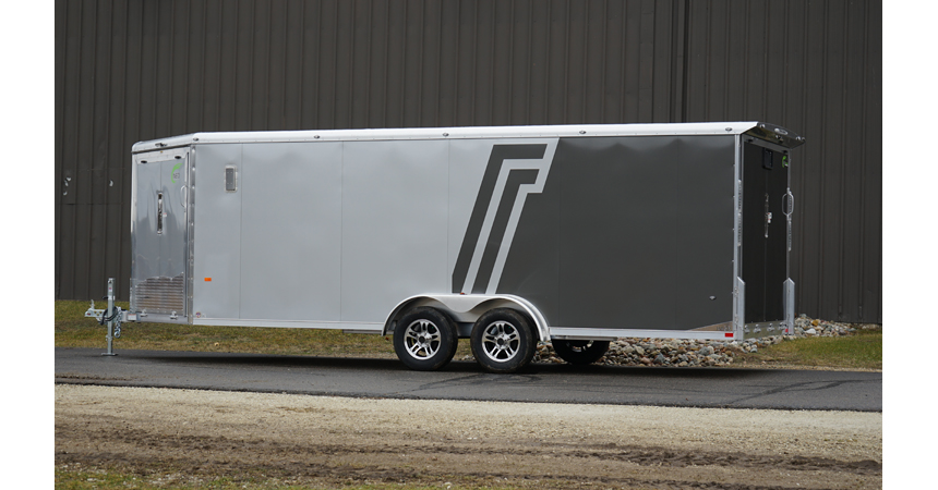 7 Wide All Sport - 7 Wide Tandem Axle Round Top NASR