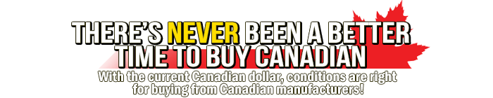 There's never been a better time to buy Canadian. Miska Trailers is proudly Canadian